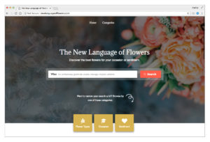 New Language of Flowers Banner image