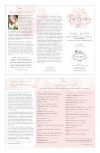 Teresa Sabankaya Posy 8.5x11 brochure