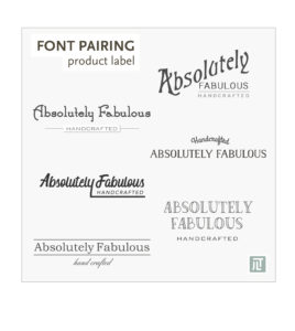 JLT Graphic Design font pairing post