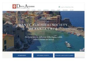 Dante Alighieri site homepage images